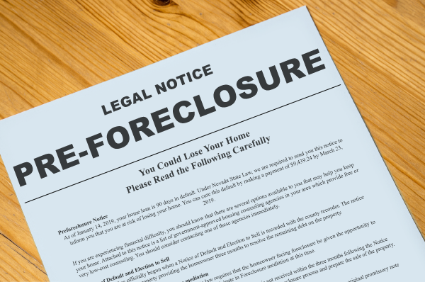 Foreclosure-Steps
